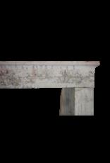 Caliza País Francés Antiguo Chimenea