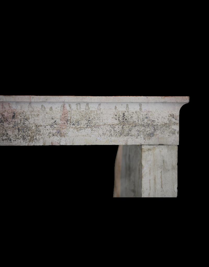 The Antique Fireplace Bank Antike Kalkstein Kamin im Französchem Landstil