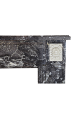 The Antique Fireplace Bank Klassische Belgische Marmor Kaminmaske
