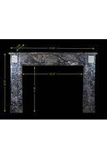 The Antique Fireplace Bank Classic Belgian Marble Fireplace Surround