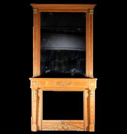 Maison Leon Van den Bogaert Antique Fireplaces & Vintage Architectural Elements Chimenea Con El Espejo De La Vendimia