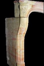 Clásico Bicolor Del Siglo 18 Francés Chimenea De La Vendimia