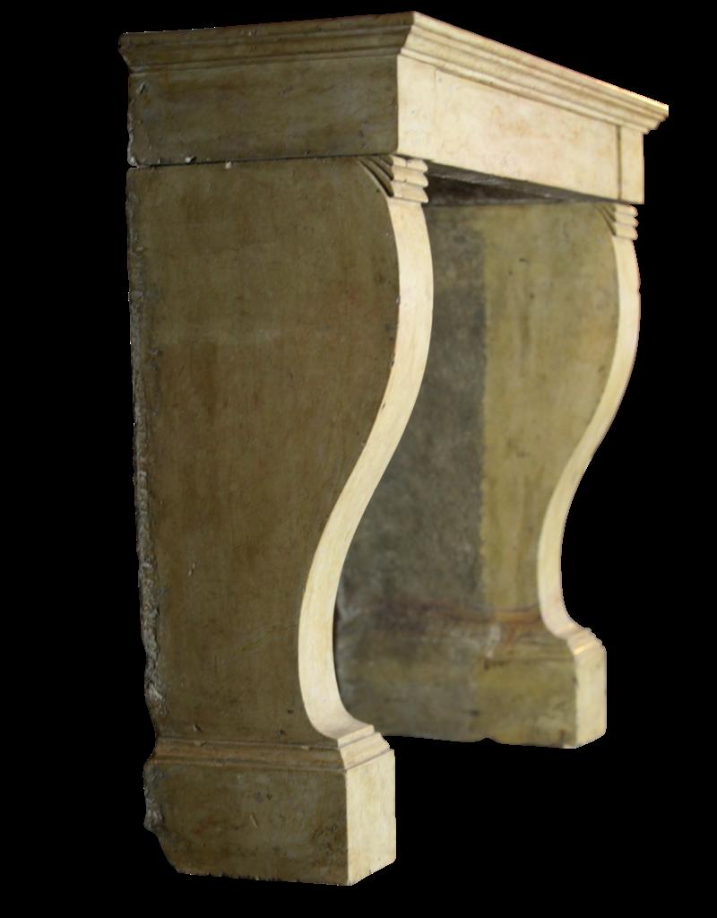 The Antique Fireplace Bank Zeitloses Chique Vintage-Stein-Kaminmaske
