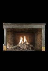 The Antique Fireplace Bank zeitloses Chique Französisch Zweifarbig Stein Kaminmaske