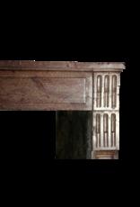 Chique Französisch Antik Kaminmaske