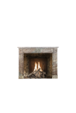 Belgian Brown Marble Fireplace Surround