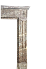 Belgian Brown Marmor Kaminmaske