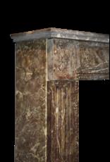 The Antique Fireplace Bank Belgischen Brown Marmor Kaminmaske