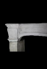 The Antique Fireplace Bank Französisch Klassik Rustikal Kalkstein Kaminmaske