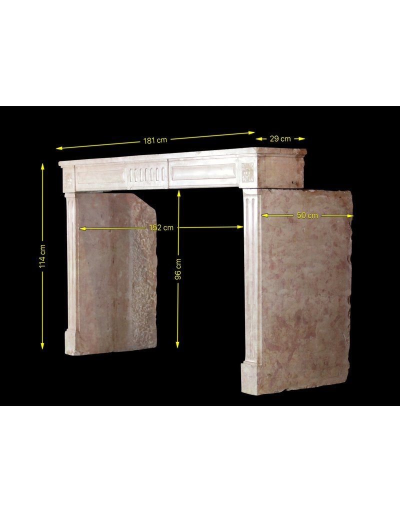 The Antique Fireplace Bank French Castle Stone Fireplace Surround