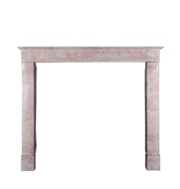 The Antique Fireplace Bank Unusual Vintage French Pink Hard Stone Vintage Fireplace Surround
