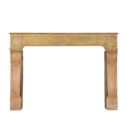 The Antique Fireplace Bank Vintage Bicolor Stone Fireplace Surround