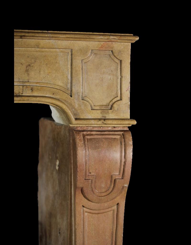 The Antique Fireplace Bank Vintage Zweifarbig Stein Kaminmaske