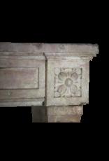 Französisch Rosa Marmor Stein Jahrgang Kaminmaske