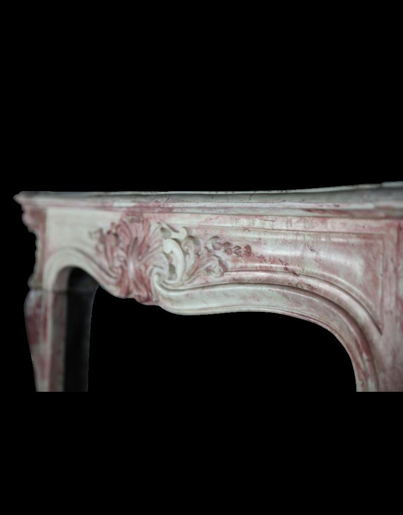 Original Französisch Antike Terra Cotta Kamin Verkleidung