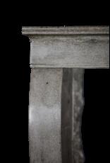 Kleines Zeitlose Grauen Stein Französisch Kaminverkleidung