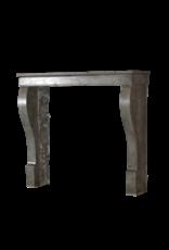 The Antique Fireplace Bank Kleines Zeitlose Grauen Stein Französisch Kaminverkleidung