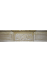 The Antique Fireplace Bank Delicate Directoire Style Marble Stone Fireplace Mantle