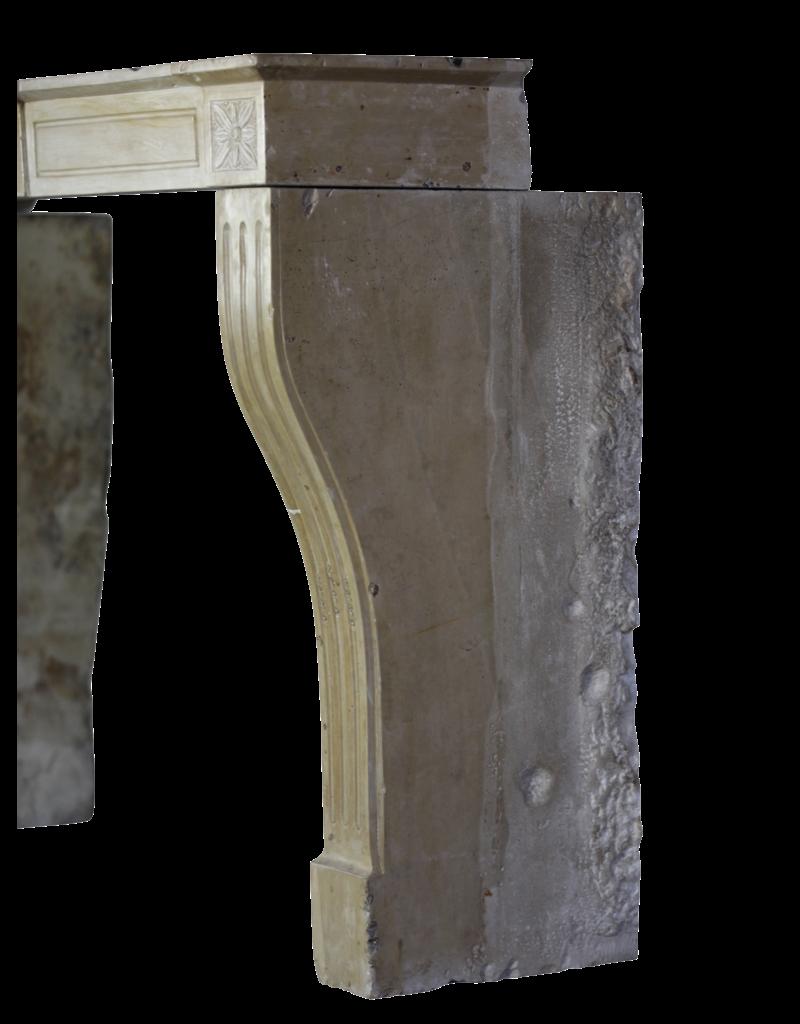 The Antique Fireplace Bank Empfindliche Directoire Stil Marmor Stein Kamin Verkleidung