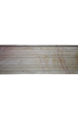 Pequeña Cheminea Francesa En Bicolor Hardstone