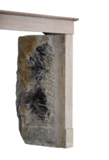 French Style Stone Antique Fireplace
