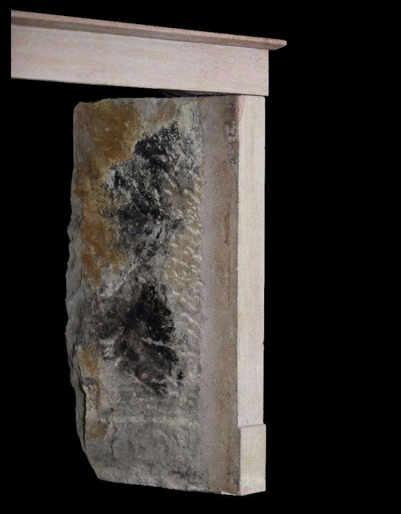 Estilo Francés Piedra Antigua Chimenea