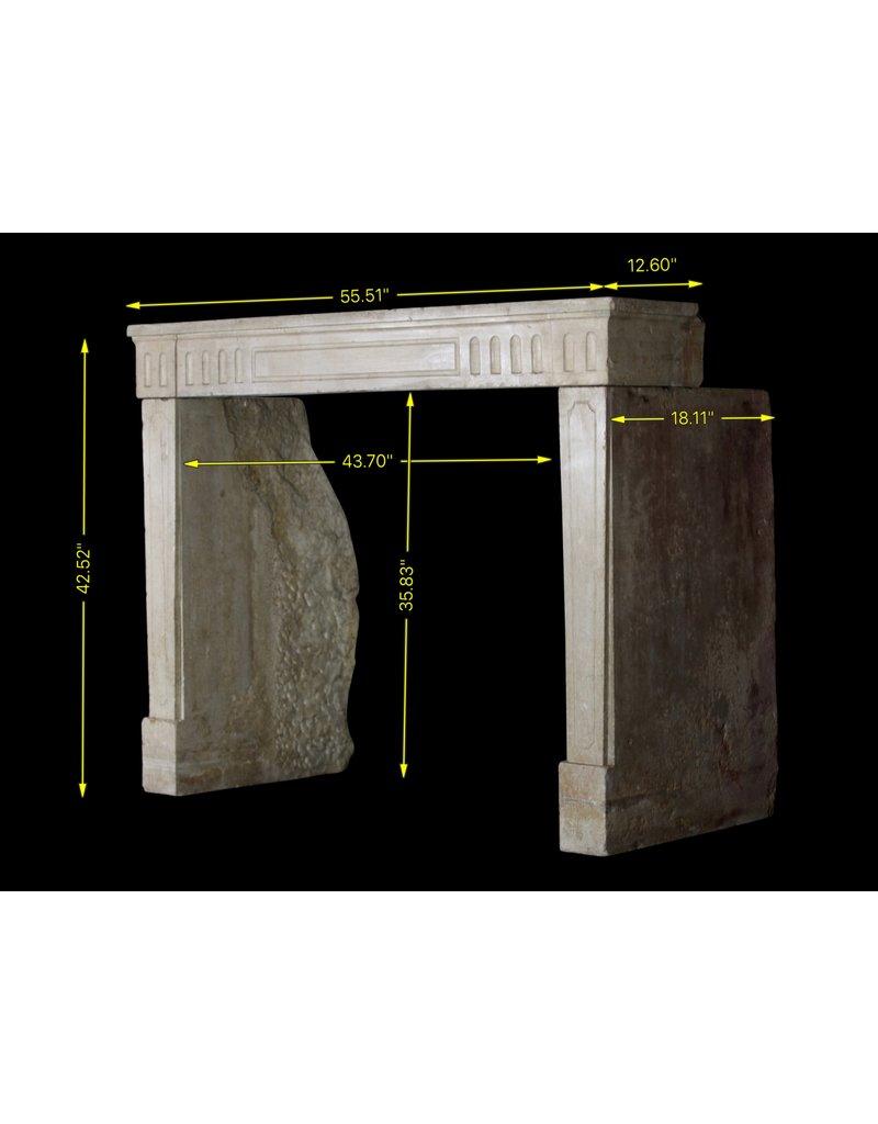 Francés Clásico Duro Piedra Caliza Manto