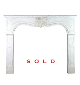 Maison Leon Van den Bogaert Antique Fireplaces & Vintage Architectural Elements Französisch Marmor Kaminmaske