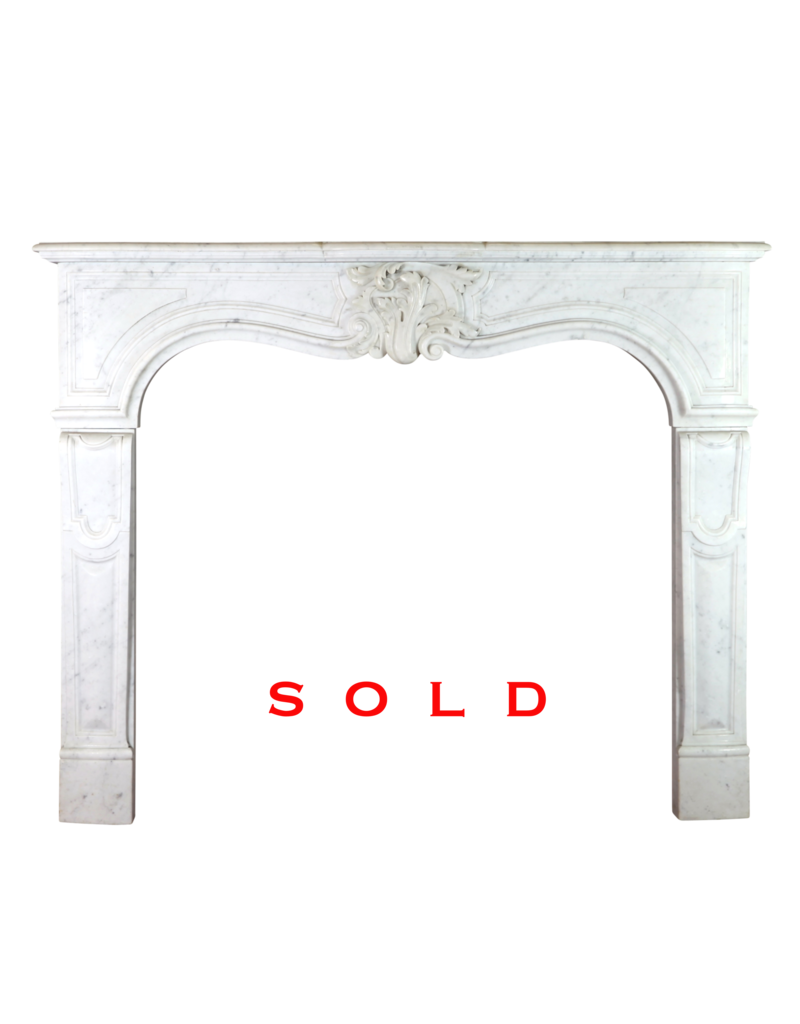 French Marble Fireplace Surround