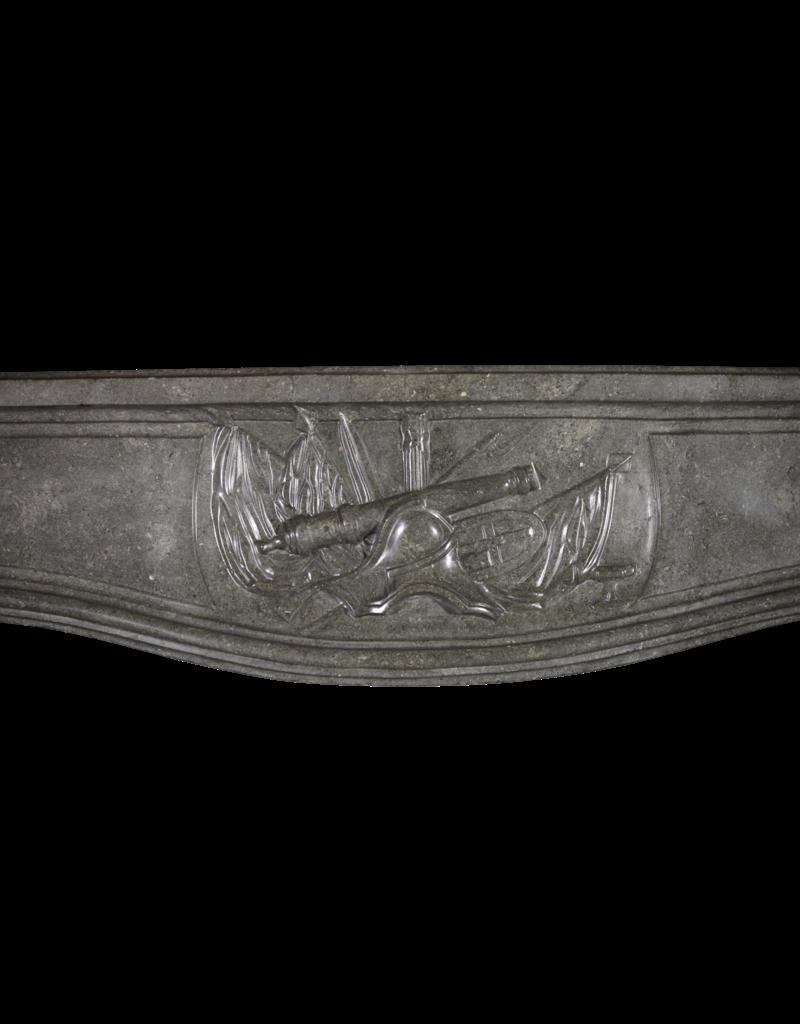 Fuerte Del Siglo 18 Francés Antiguo Chimenea