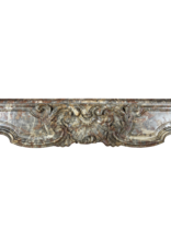 Exceptional Wide Classic Belgian Antique Fireplace Surround