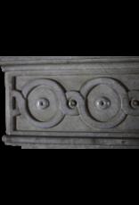 Groß 18. Jahrhundert Französisch Jahrgang Kamin Maske