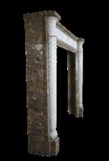 Delicada Chic Francés Antiguo Chimenea