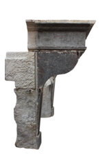 Groß Französisch Landstil Kamin Maske