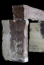 Gran Siglo 18 Francés País Estilo Antiguo Chimenea
