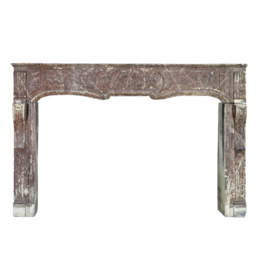 Grand 18Th Century French Country Antique Fireplace Surround