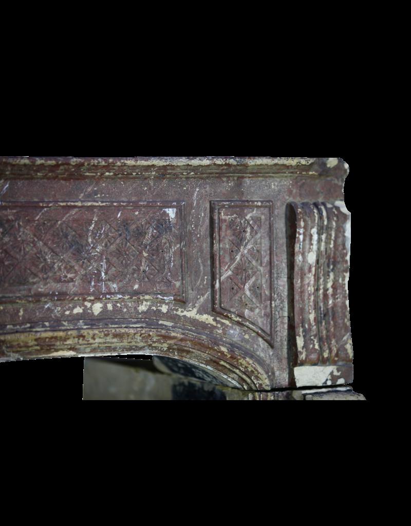 Groß 18. Jahrhundert Französisch Landstil-Art-Antike Kamin Maske
