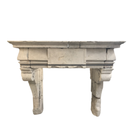 The Antique Fireplace Bank French Rustic Renaiscance Fireplace Surround