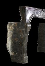 Fósil De Piedra Siglo 17 Chique Francesa Revestimiento En La Oscuridad