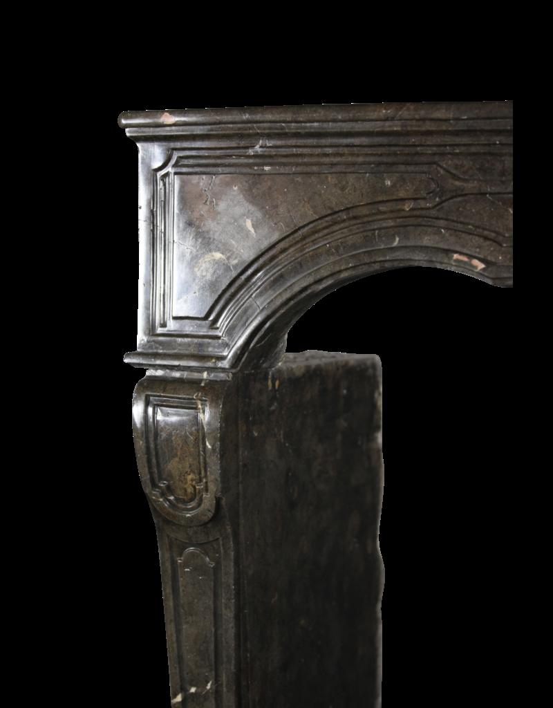 The Antique Fireplace Bank 17. Jahrhundert Chique Französisch Kamin Maske In Dunkel Fossil Stein