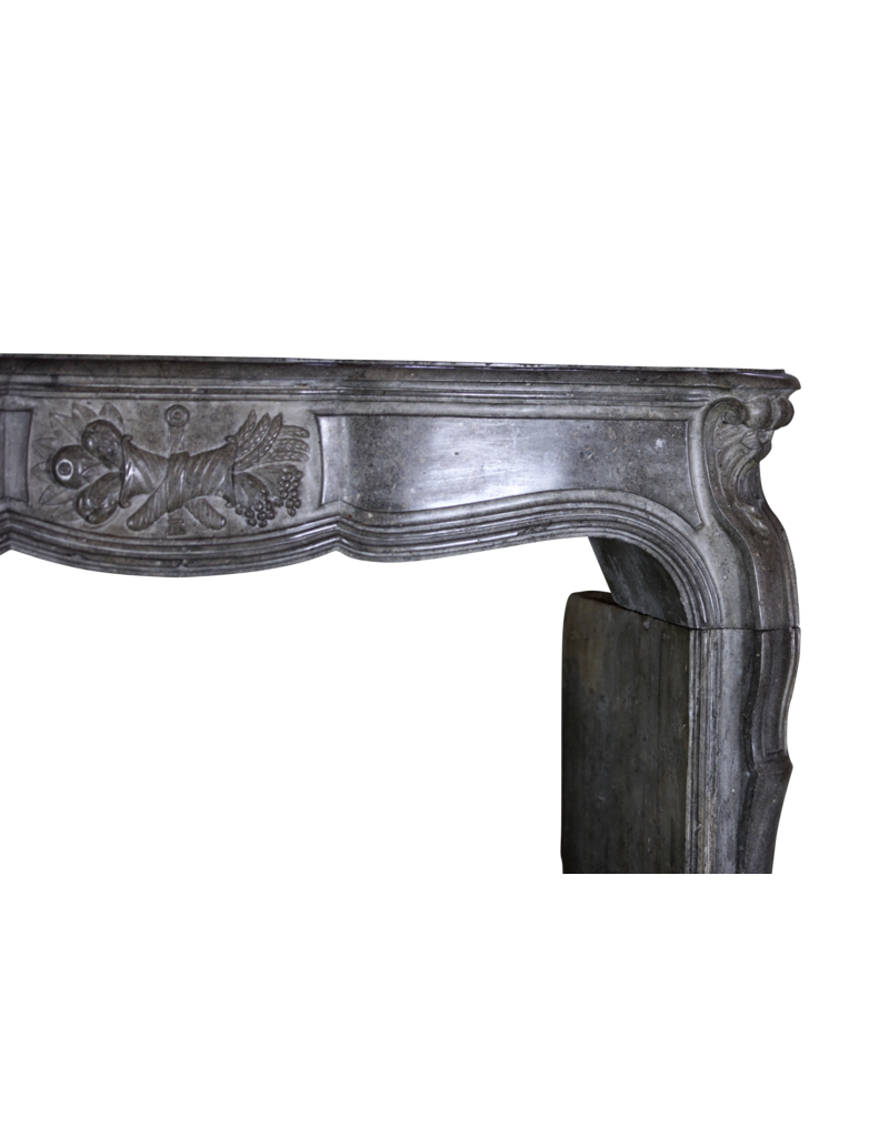 The Antique Fireplace Bank Starkes 18. Jahrhundert Periode Französisch Kamin Maske