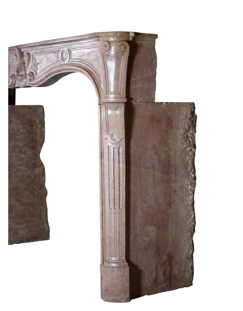 18Th Century Period Chique French Fireplace Surround