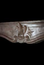 18. Jahrhundert Periode Chique Französisch Kamin Maske