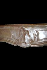 The Antique Fireplace Bank Französisch Des 18. Jahrhunderts Periode Zweifarbig Antike Kamin Maske