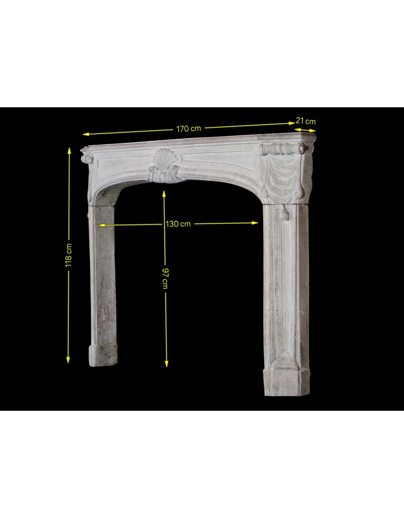 French 18Th Century Period One Of A Kind Fireplace Surround