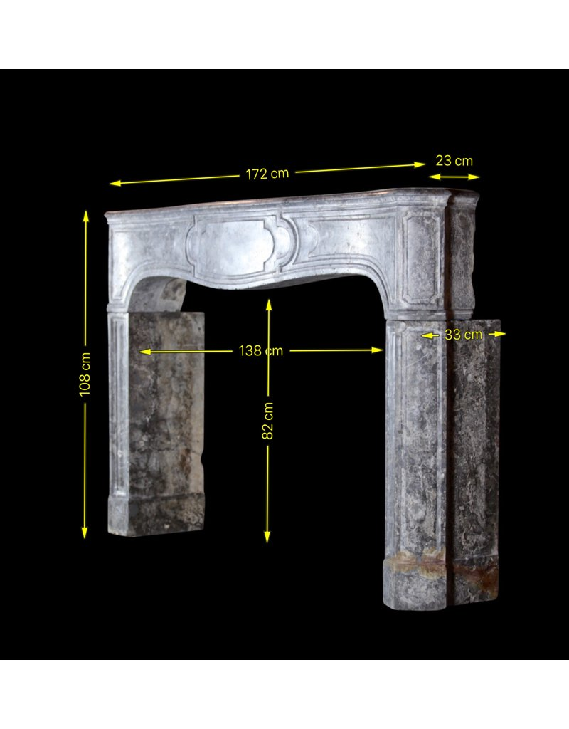 Oxidado Piedra Dura Chimenea De La Vendimia