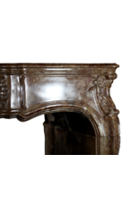 Exceptional Antique Hard Stone Fireplace Surround