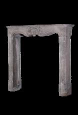 18Th Century Italian Pearl Vintage Fireplace Surround