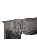The Antique Fireplace Bank 18Th Century Italian Pearl Vintage Fireplace Surround