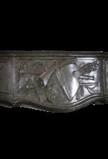 Directoire Periode Französisch Jahrgang Kamin Maske